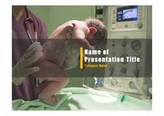 PPT양식 템플릿 배경 - 출산, 신생아1