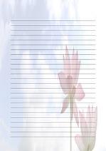편지지, 노트, 연습장, 속지 v1809132