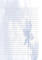 편지지, 노트, 연습장, 속지 v1809136