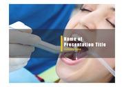 PPT양식 템플릿 배경 - 치과, 치료3