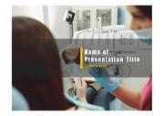 PPT양식 템플릿 배경 - 치과, 치료6