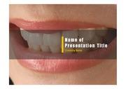 PPT양식 템플릿 배경 - 치과, 치아2