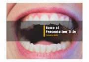 PPT양식 템플릿 배경 - 치과, 치아5