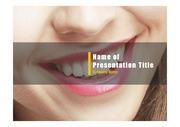 PPT양식 템플릿 배경 - 치과, 치아9