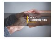 PPT양식 템플릿 배경 - 노인건강, 노인케어7