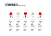 ppt다이어그램 - 744(그래픽 타입, 일자리, 의자, 아이콘, 컬러2)