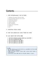 [영문이력서][영문자기소개서]A+ 영문이력서(Resume) 커버레터(Cover Letter) BEST 합격예문 및 작성법