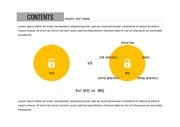 ppt다이어그램 - 818(그래픽 타입, 보안, 자물쇠, 비교분석, 컬러1)