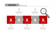 ppt다이어그램 - 821(step 타입, 보안, 자물쇠, 네트워크, 인터넷, 전자상거래, 아이콘, 컬러2)