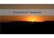 PowerPoint Template  해돋이 v3