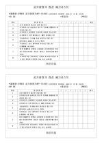 어린이집 공기청정기 점검체크리스트(월)
