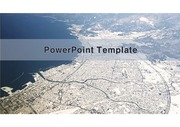 PowerPoint Template  항공사진