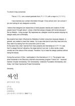 [영문] 디자이너 해외 입사 cover letter 포멧과 예시