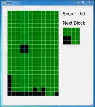 C# 윈폼 테트리스(Tetris) 소스코드 및 실행파일