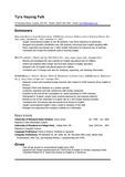 English Resume(CV)