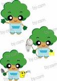 나무 캐릭터 디자인