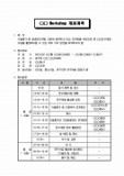 Workshop(워크샵) 개최계획