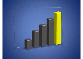 파워포인트 2007로 만든 3D 막대그래프 다이어그램(3D Bar chart diagram) 템플릿