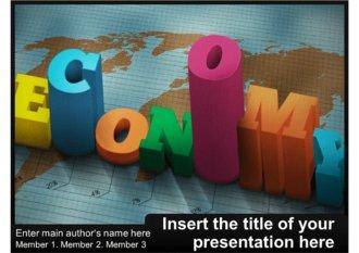 경제 경제학 세계경제 글로벌경제 관련 파워포인트 템플릿 (ppt 배경)