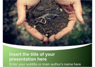 지구환경과학 미<strong>생물</strong> 토양 흙 자연 생태계 관련 파워포인트 <strong>템플릿</strong> (ppt 배경)