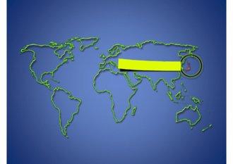 파워포인트 2007용 일본지도(japan map) 디자인 다이어그램입니다