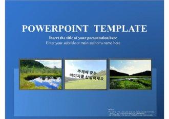 [PPT배경] 깔끔한 이미지 삽입이 가능한 파워포인트 템플릿 배경 10_60