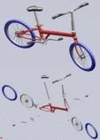 [솔리드웍스] 자전거 3D 모델링