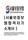 [서울보증보험-최신공채합격자기소개서]서울보증보험자소서,서울보증보험자기소개서,보증보험합격자기소개서,보증보험합격자소서,보증보험자소서,자기소개서자소서