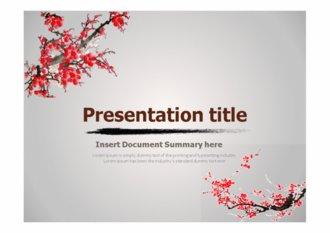 [ppt템플릿] 한국 전통문화 파워포인트 배경 디자인 양식 테마
