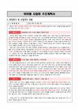 2013년 서울시 창업센터 합격 사업계획..