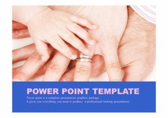 PPT양식 가족, 가정, 육아 테마 템플릿
