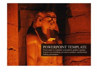 PPT 양식 이집트 템플릿