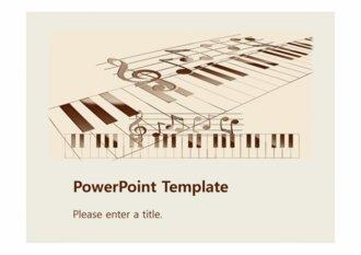[악보 PPT배경] 악보 피아노 건반 음표 음악 배경파워포인트 PowerPoint PPT 프레젠테이션
