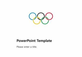 [올림픽 PPT배경] - 올림픽 오륜기 올림픽역사 종목 하계올림픽 배경파워포인트 PowerPoint PPT 프레젠테이션