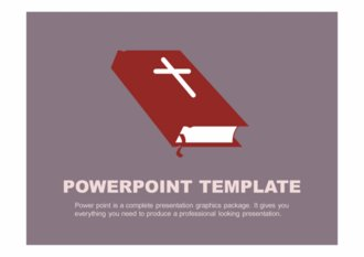 PPT 양식 기독교 템플릿