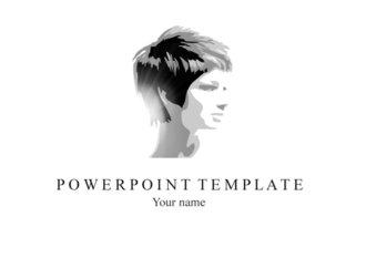 PPT 양식 여성 테마 템플릿
