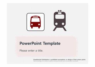 [대중교통 테마 PPT배경] - 대중교통 버스 지하철 도시 철도 공공요금 교통 배경파워포인트 PowerPoint PPT 프레젠테이션