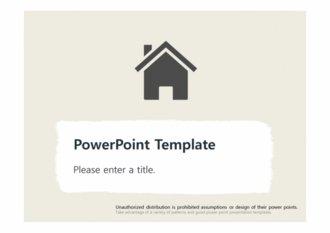 [집 하우스 PPT배경] - 집 하우스푸어 내집 모기지론 담보 부동산 주거환경 배경파워포인트 PowerPoint PPT 프레젠테이션