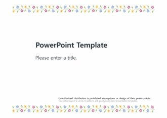[예쁜 꽃무늬패턴 PPT배경] - 예쁜 꽃무늬 플라워 꽃패턴 깔끔한 화사한 배경파워포인트 PowerPoint PPT 프레젠테이션