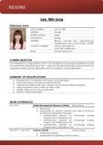 눈에 확 띄는 영문 이력서 / CV / Resume