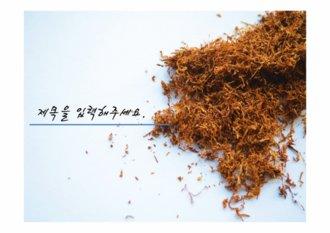 PPT양식/탬플릿 (담배,금연,흡연,말보로)