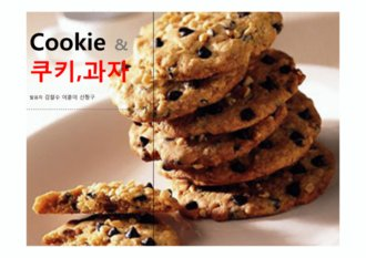 PPT 양식 (쿠키,과자,음식) 전문 배경,양식 <strong>피피티 템플릿</strong>