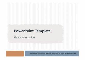 [기본적인 피피티양식 PPT배경] - 심플한 기본적인 피피티양식 배경파워포인트 PowerPoint PPT 프레젠테이션