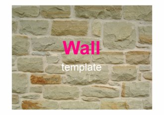 벽돌 바탕 ppt 템플릿/양식
