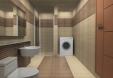 3d 맥스- 소형주택 실내 - 욕실 모델링 작업