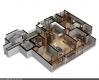 3d 맥스- 소형주택 아이소 작업