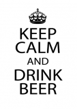 Keep Clam and Drink Beer