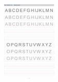 알파벳 쓰기(대문자,소문자)