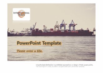 [FTA 국제무역 테마 PPT배경] - 무역 트레이드 TRADE 공정무역 관세 경제무역학 비교우위 절대우위 선박 국제무역 FTA 배경파워포인트 PowerPoint PPT 프레젠테이션