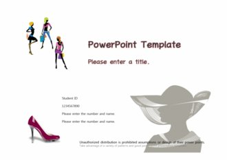 [패션디자인 테마 PPT배경] - 패션디자인 패션트렌드 뷰티 쇼핑 의류 패션쇼 의상 구두 배경파워포인트 PowerPoint PPT 프레젠테이션